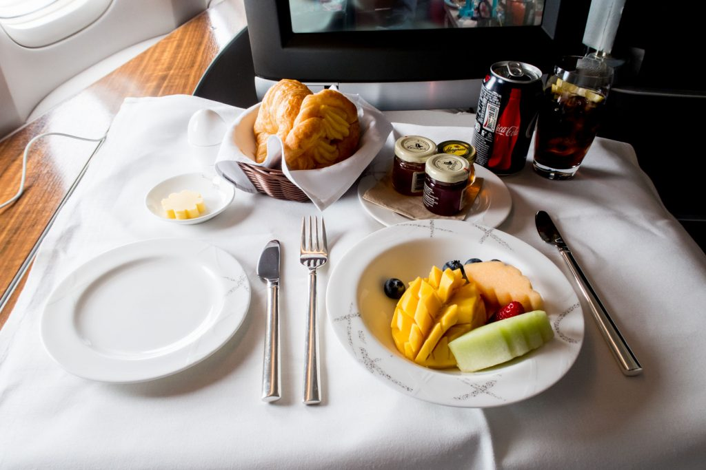 Cathay Pacific First Class from Hong Kong to Tokyo