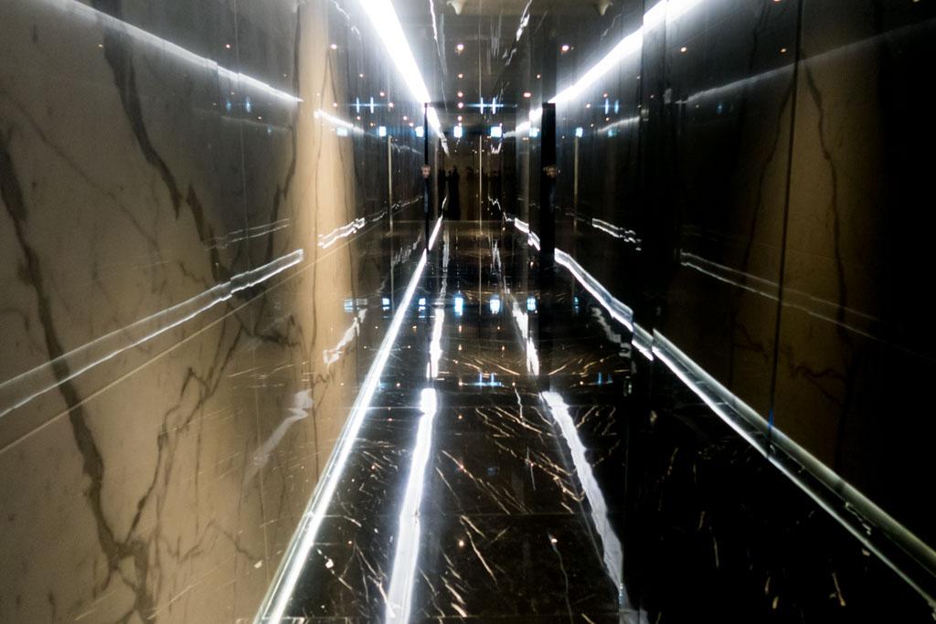 Shower Hallway