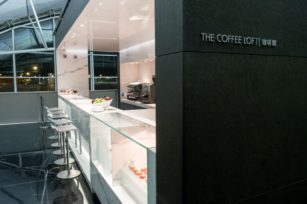 """The Coffee Loft"" at Cathay Pacific ""The Wing, Business"""