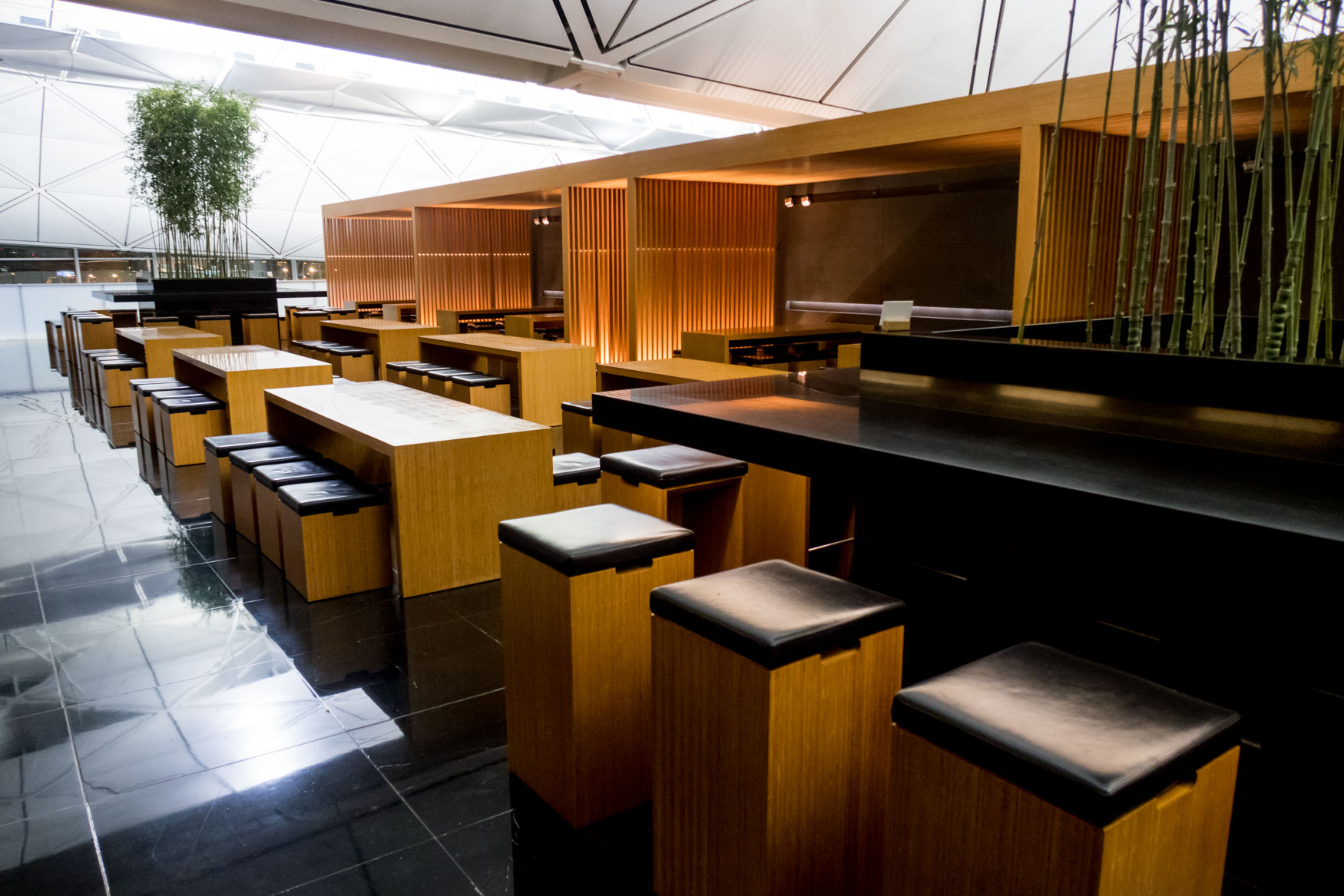 "The Noodle Bar at Cathay Pacific ""The Wing, Business"""