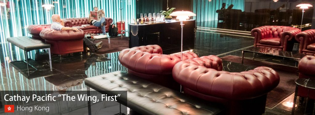 "Lounge Review: Cathay Pacific ""The Wing, First"" at Hong Kong International"