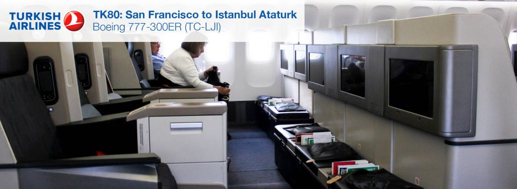 Flight Review: Turkish Airlines 777-300ER Business Class from San Francisco to Istanbul