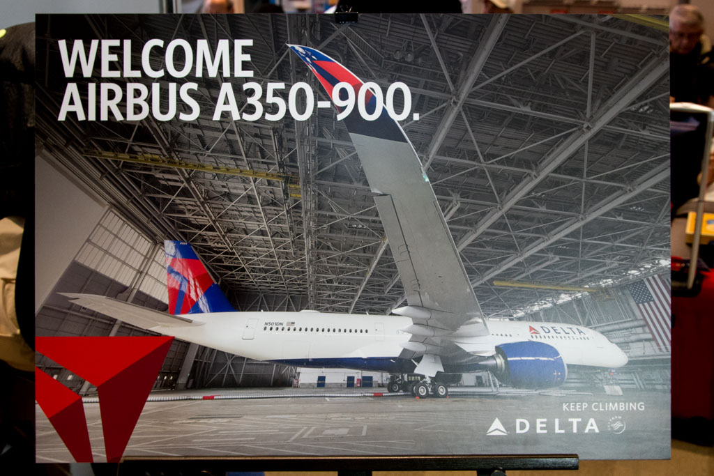 Welcome Airbus A350-900