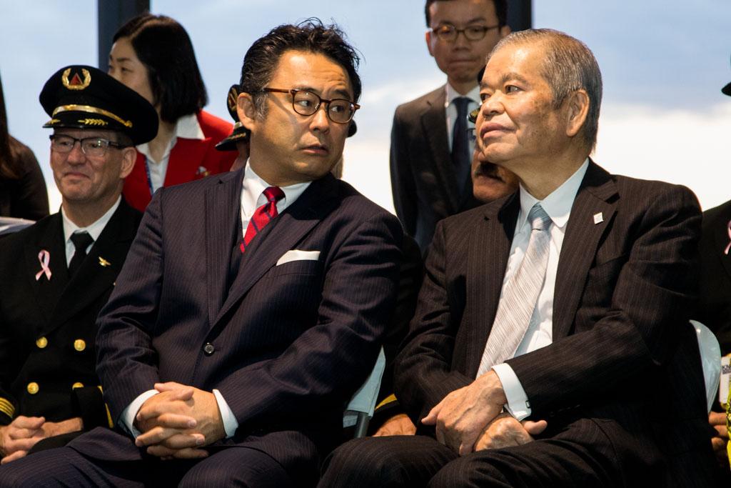 Masaru Morimoto and Makoto Natsume
