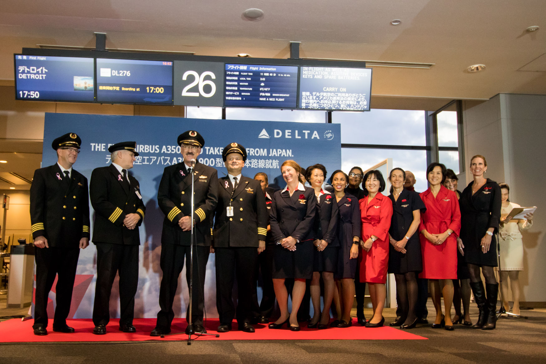 Delta Air Lines A350 Crew