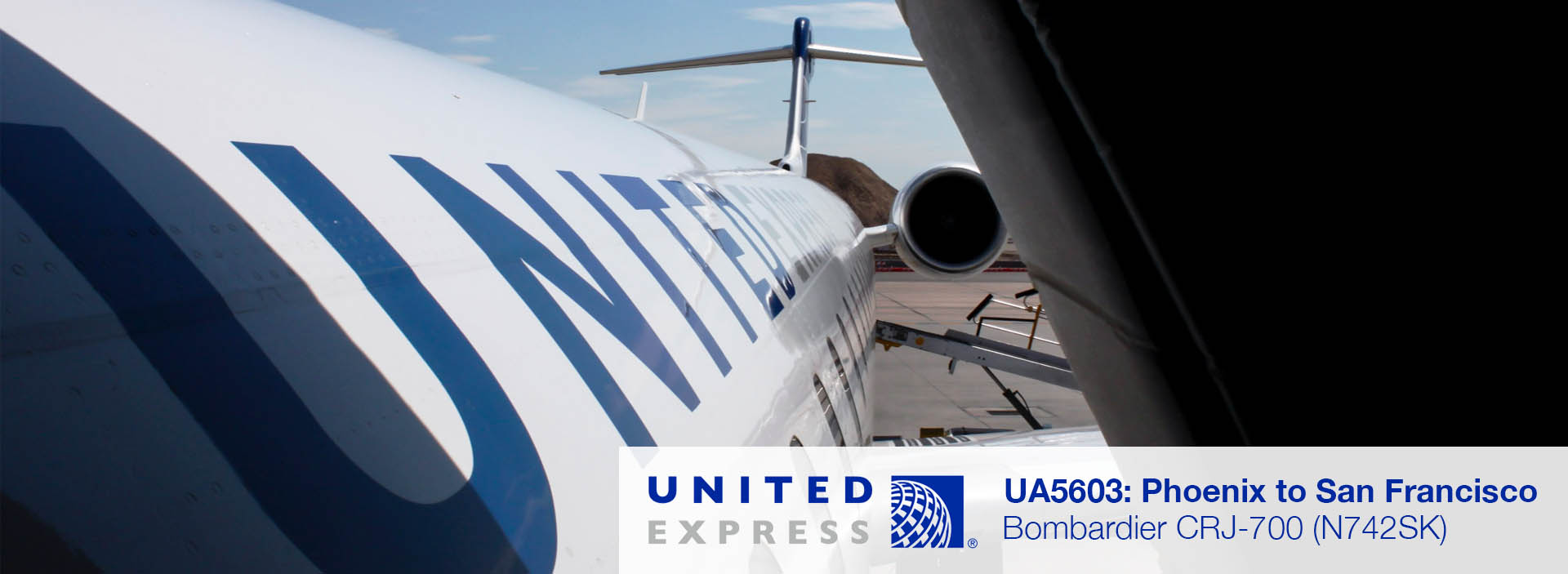 Flight Review: United Express CRJ-700 Economy Class from Phoenix to San Francisco