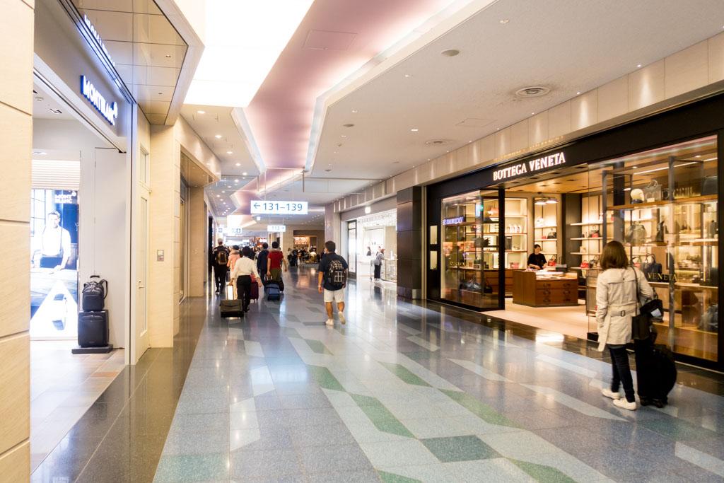 Tokyo Haneda International Terminal Airside