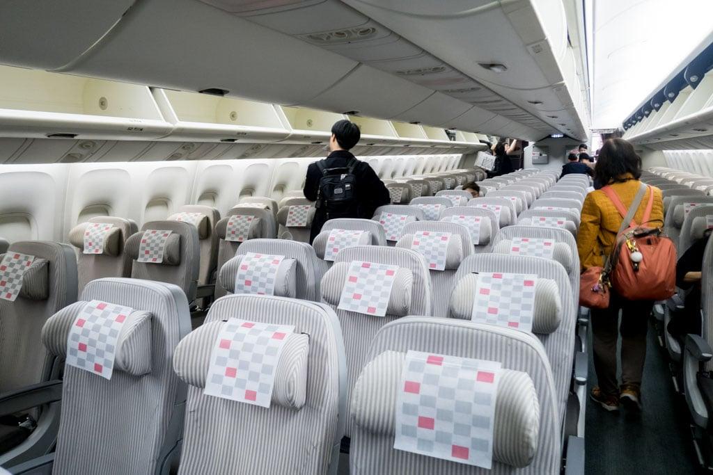JAL 767 Cabin