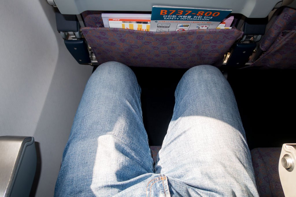 Jeju Air Seat Pitch