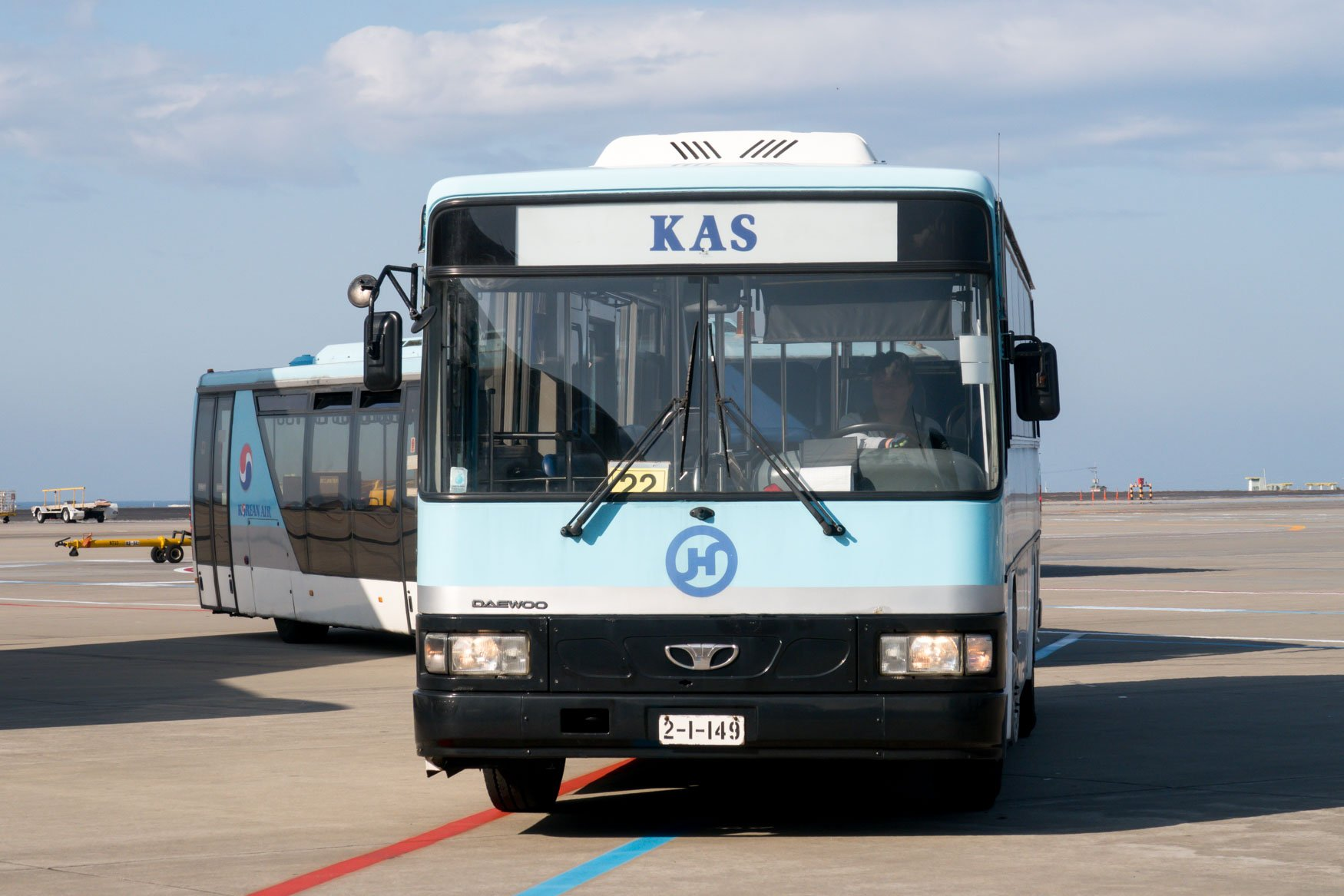 Korean Air Bus