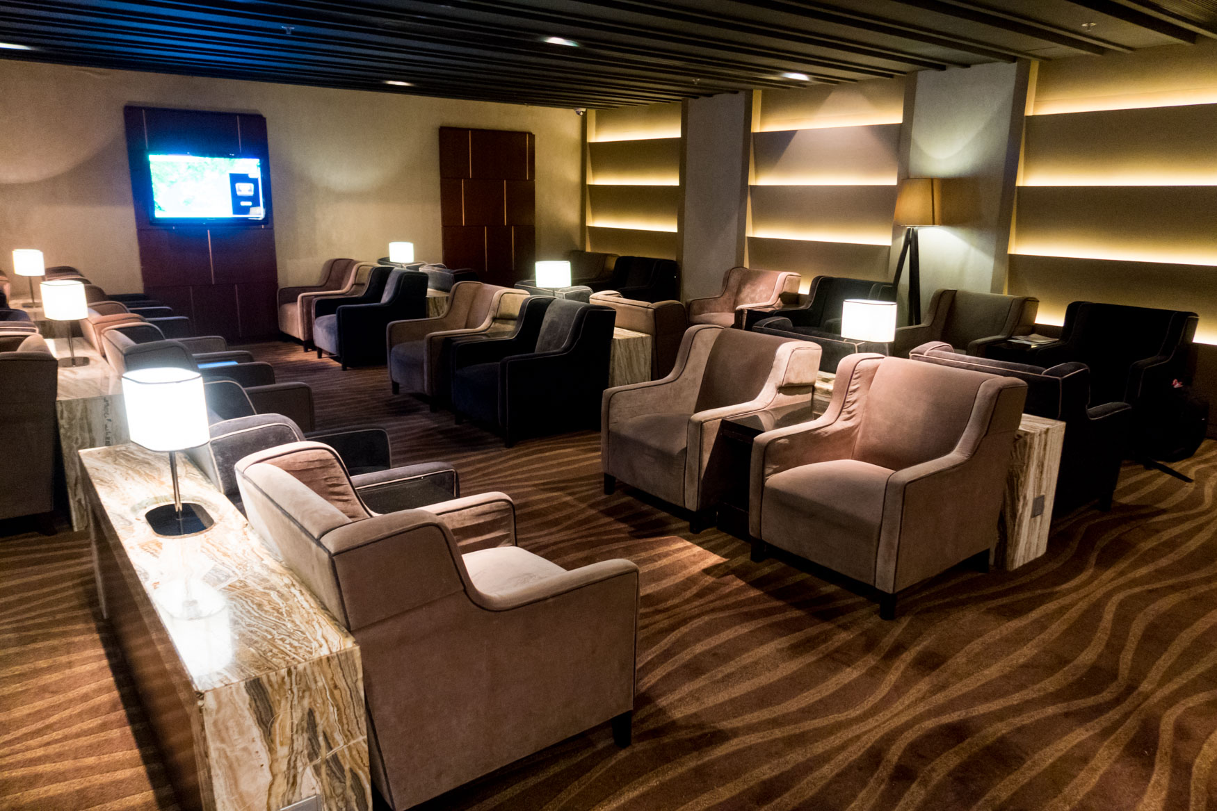 Plaza Premium Lounge Hong Kong East Hall Lounging Area