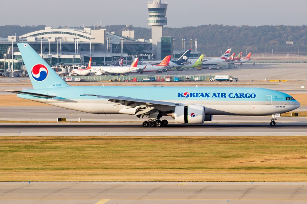 Korean Air Cargo 777F