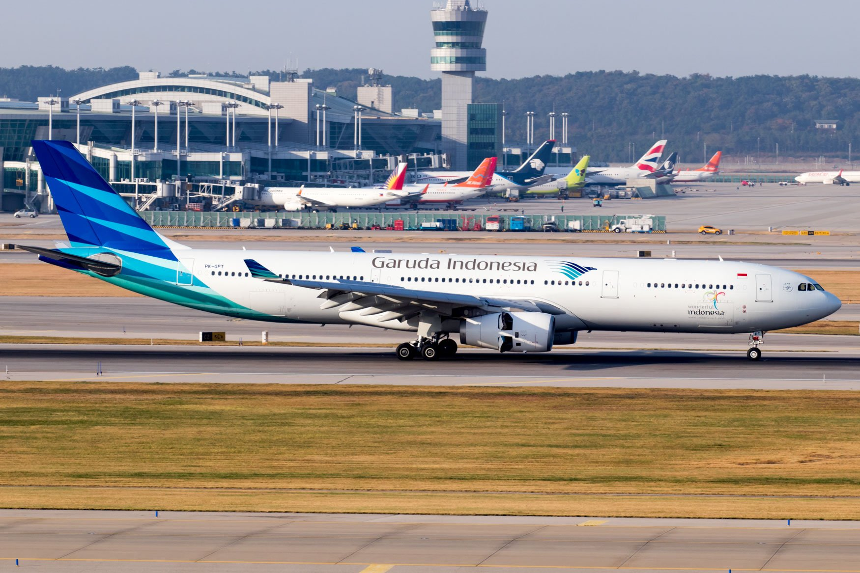 Image result for garuda indonesia incheon airport