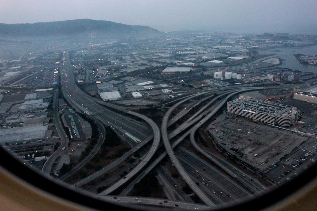 Departing San Francisco Airport