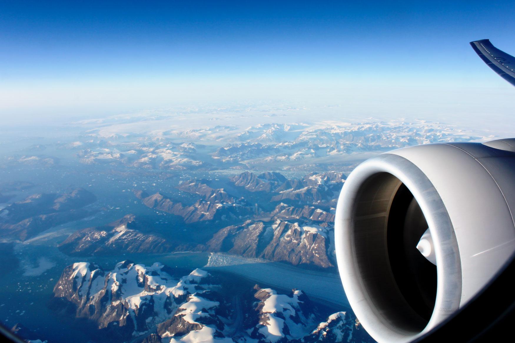 Overflying Greenland