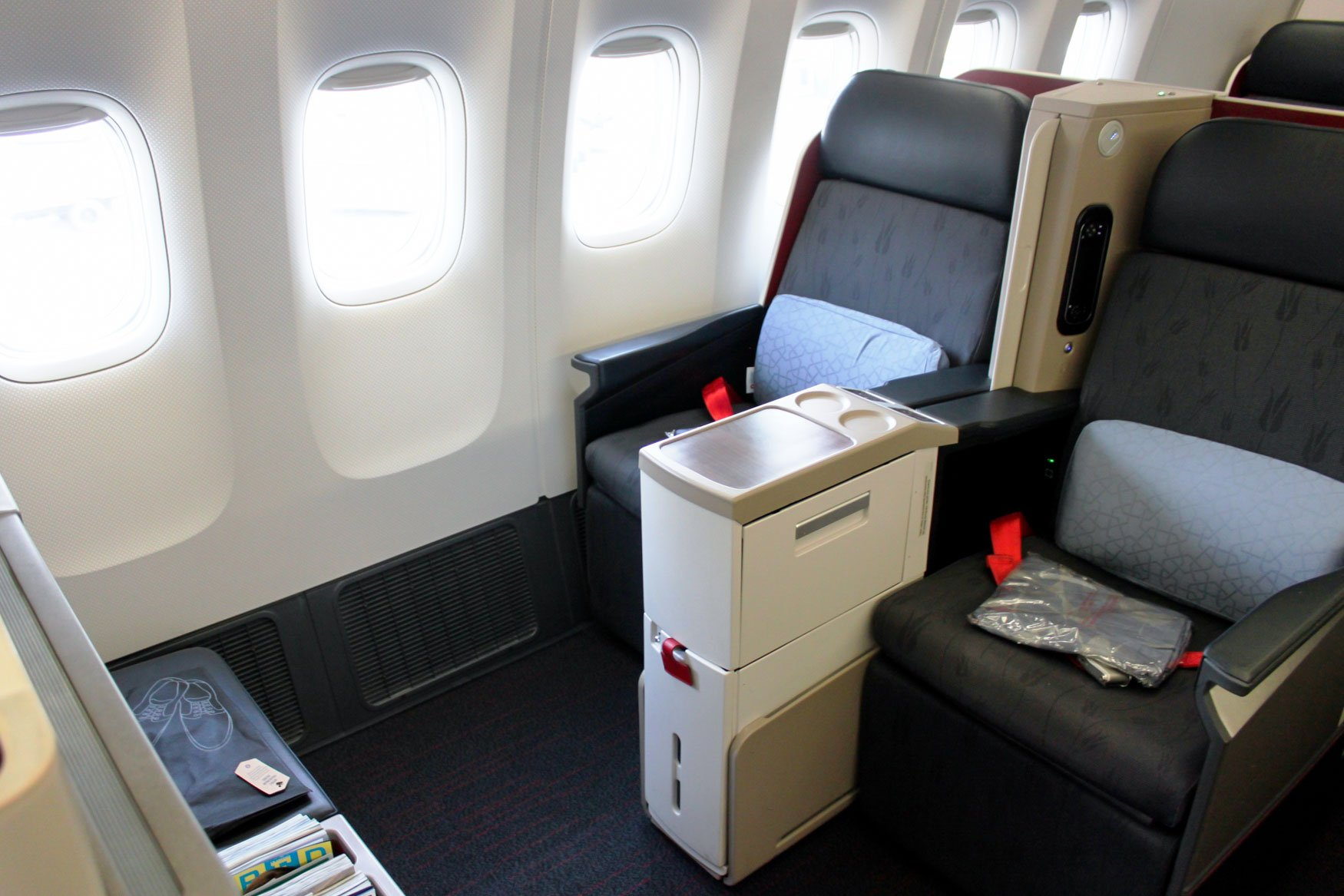 Turkish Airlines Boeing 777-300ER Business Class Seats
