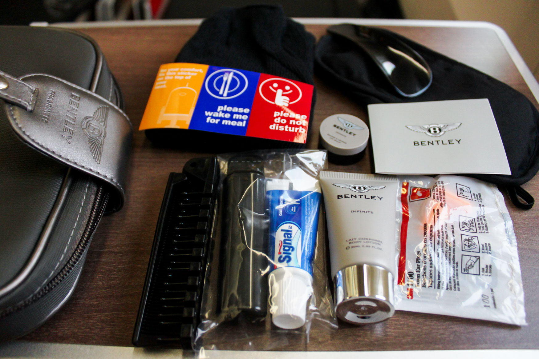 Bentley Amenity Kit Turkish Airlines