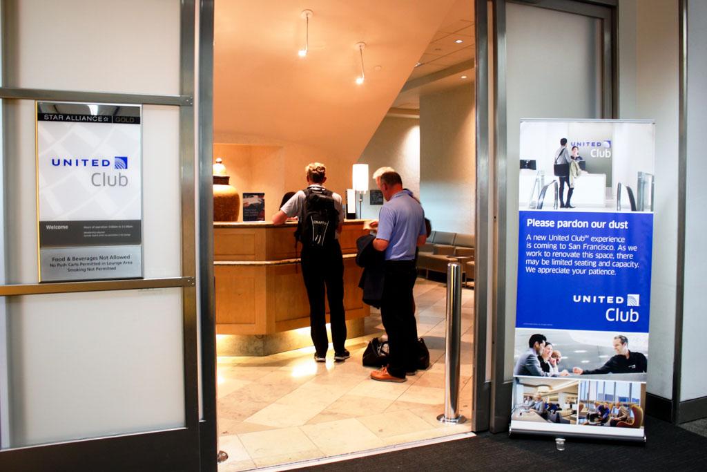 United Club San Francisco International Terminal Reception