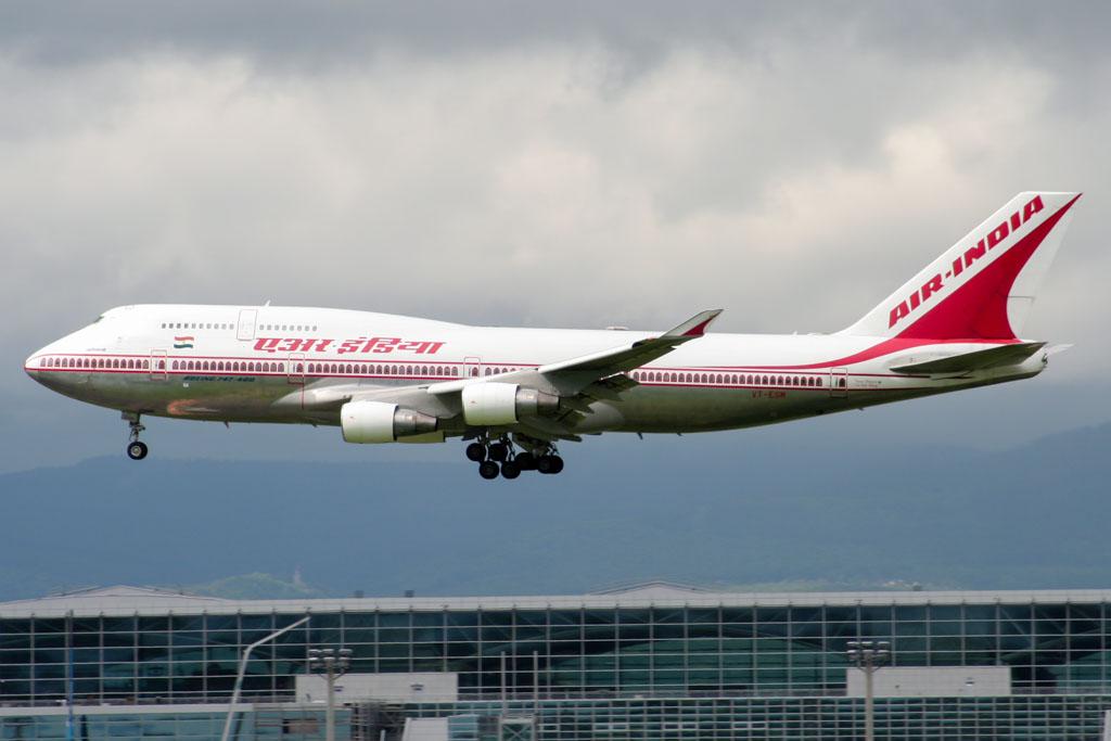 Air India 747-400 Frankfurt