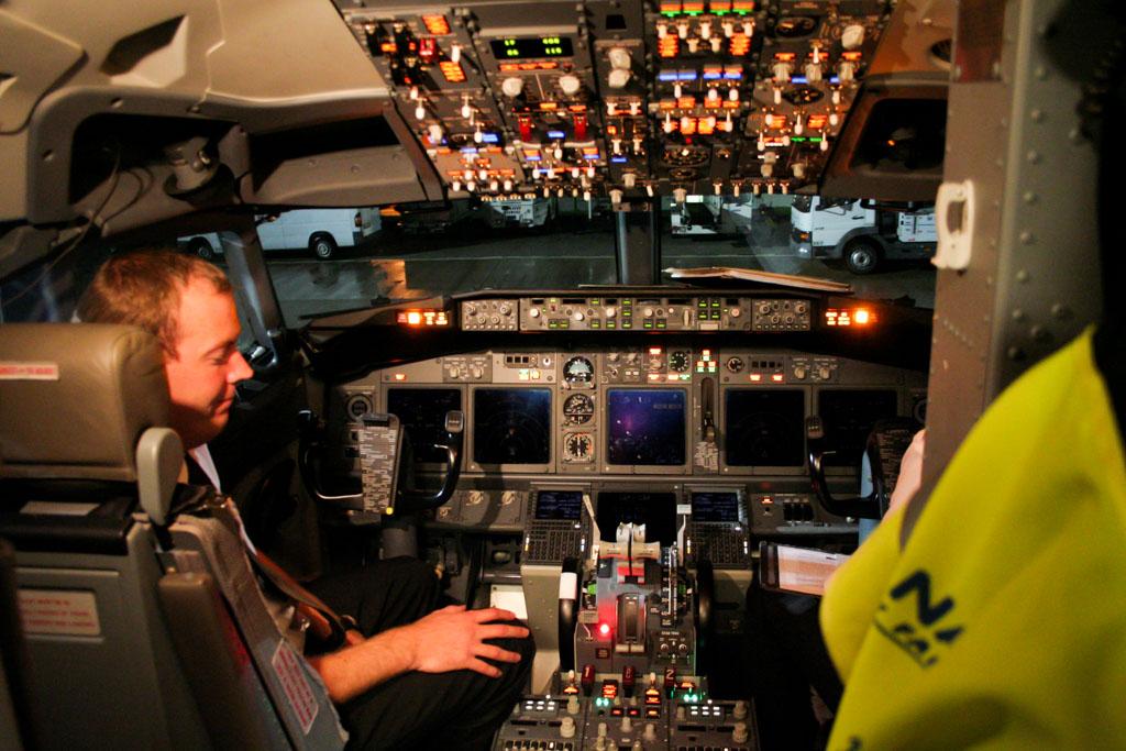 Ryanair 737-800 Cockpit