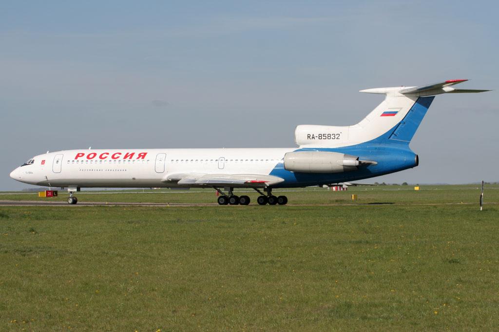 Pulkovo Tu-154