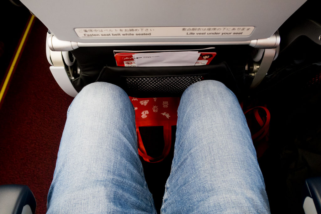 AirAsia Japan Legroom