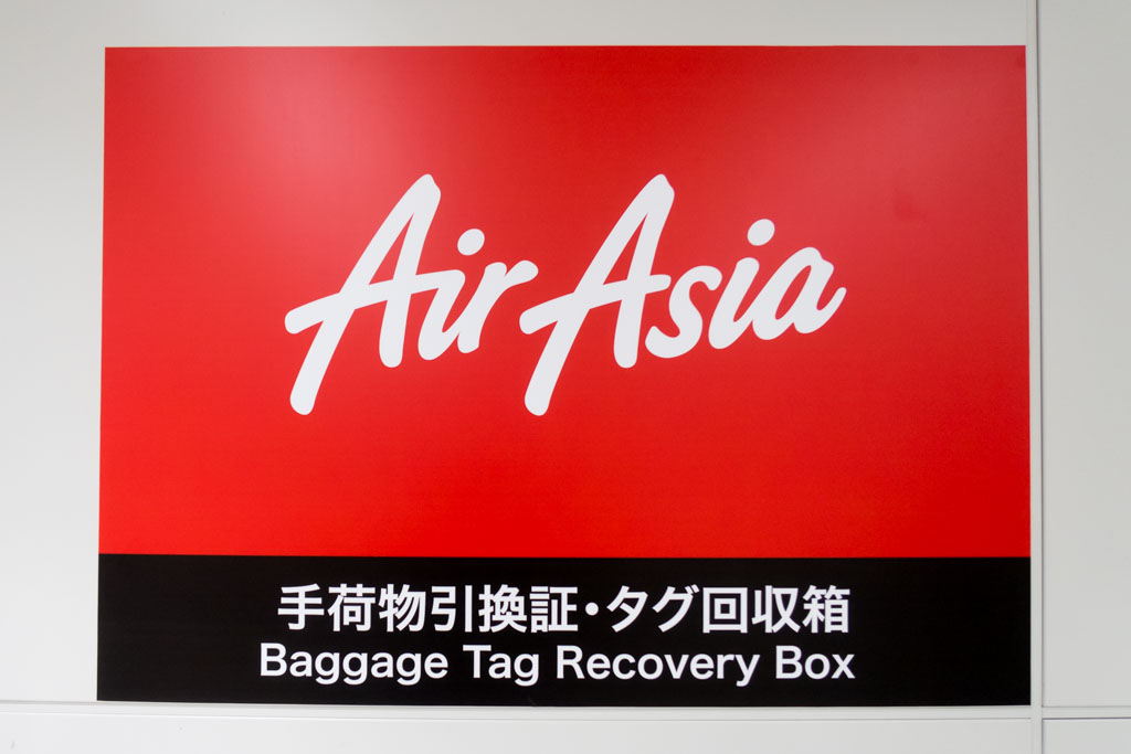 AirAsia Baggage Tag Recovery Box