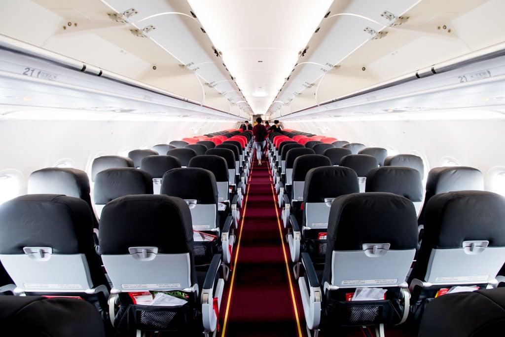 AirAsia Japan A320 Cabin