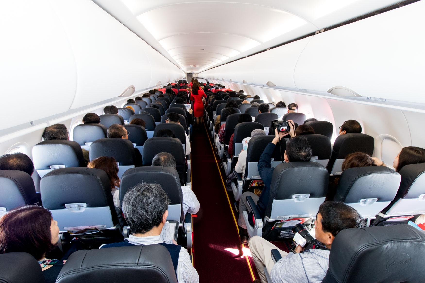AirAsia Japan Airbus A320 Cabin
