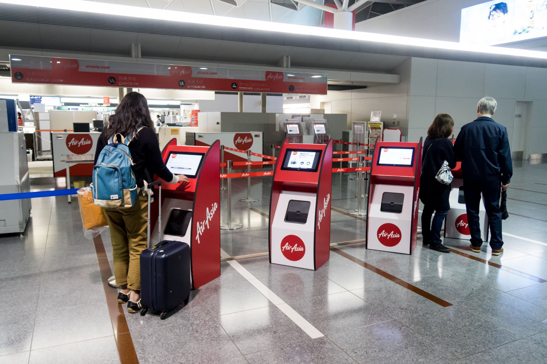 AirAsia Japan Inaugural Flight Check-in