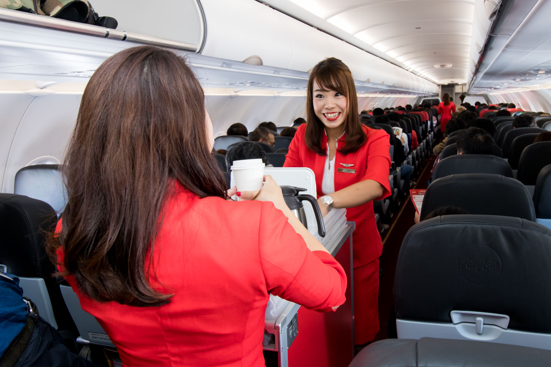 AirAsia Japan Cabin Crew at Work