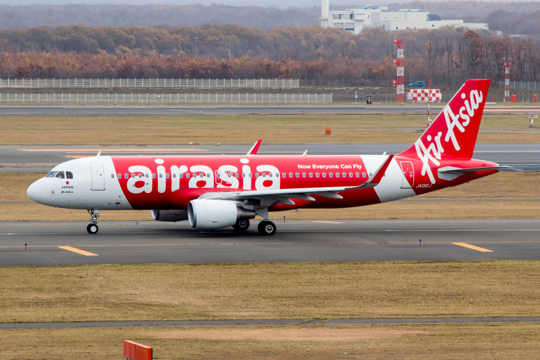 AirAsia Japan DJ2 Inaugural Taxiing for Departure