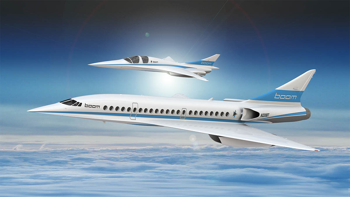 Boom Supersonic Prototype