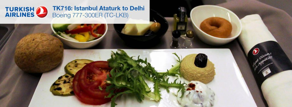 Flight Review: Turkish Airlines 777-300ER Business Class from Istanbul to Delhi