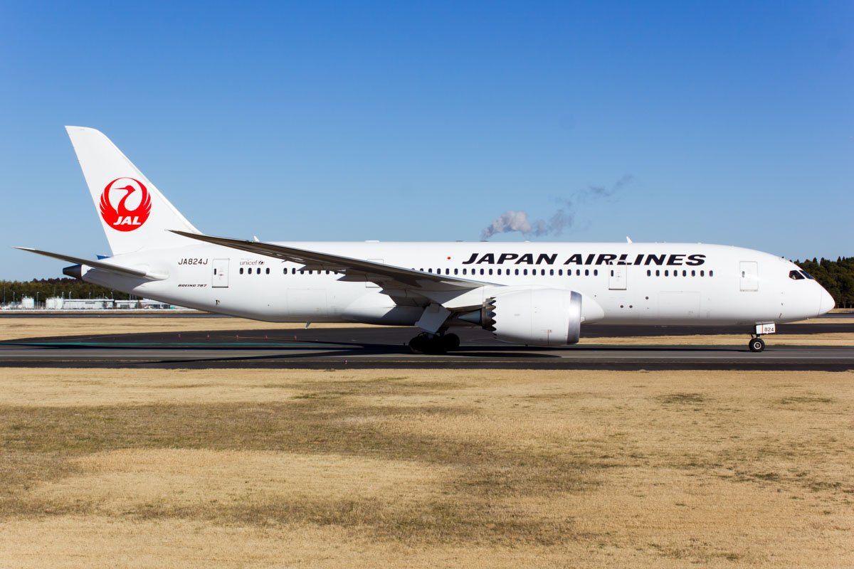 JAL Japan Airlines Boeing 787-8