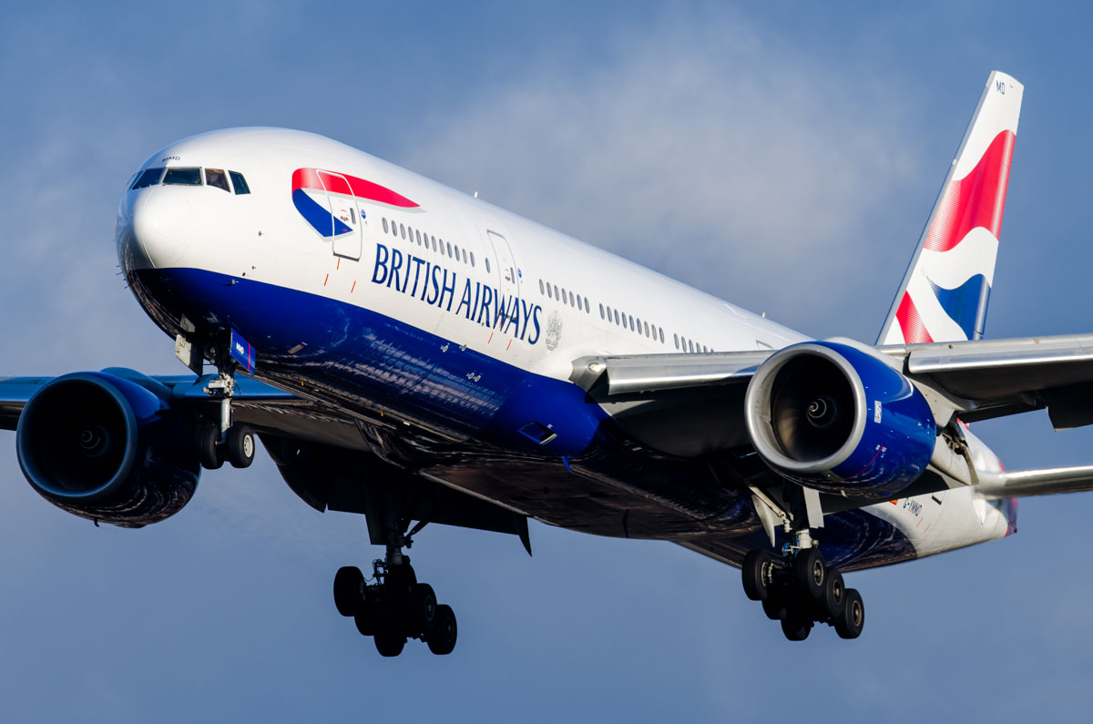 British Airways Boeing 777-200ER