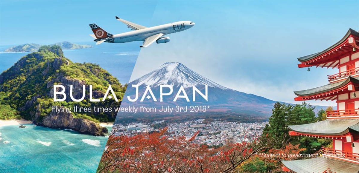 Fiji Airways Nadi Tokyo