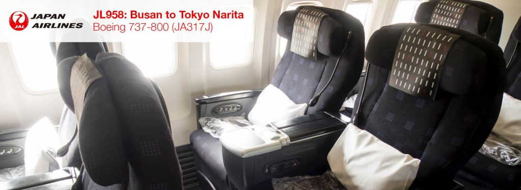 Flight Review: JAL 737-800 Business Class from Busan to Tokyo Narita