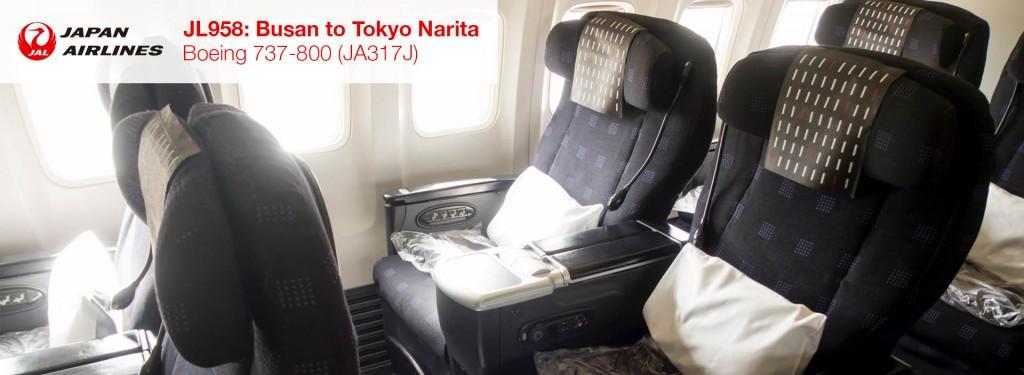 Flight Review: JAL 737-800 Business Class from Busan to Tokyo Narita