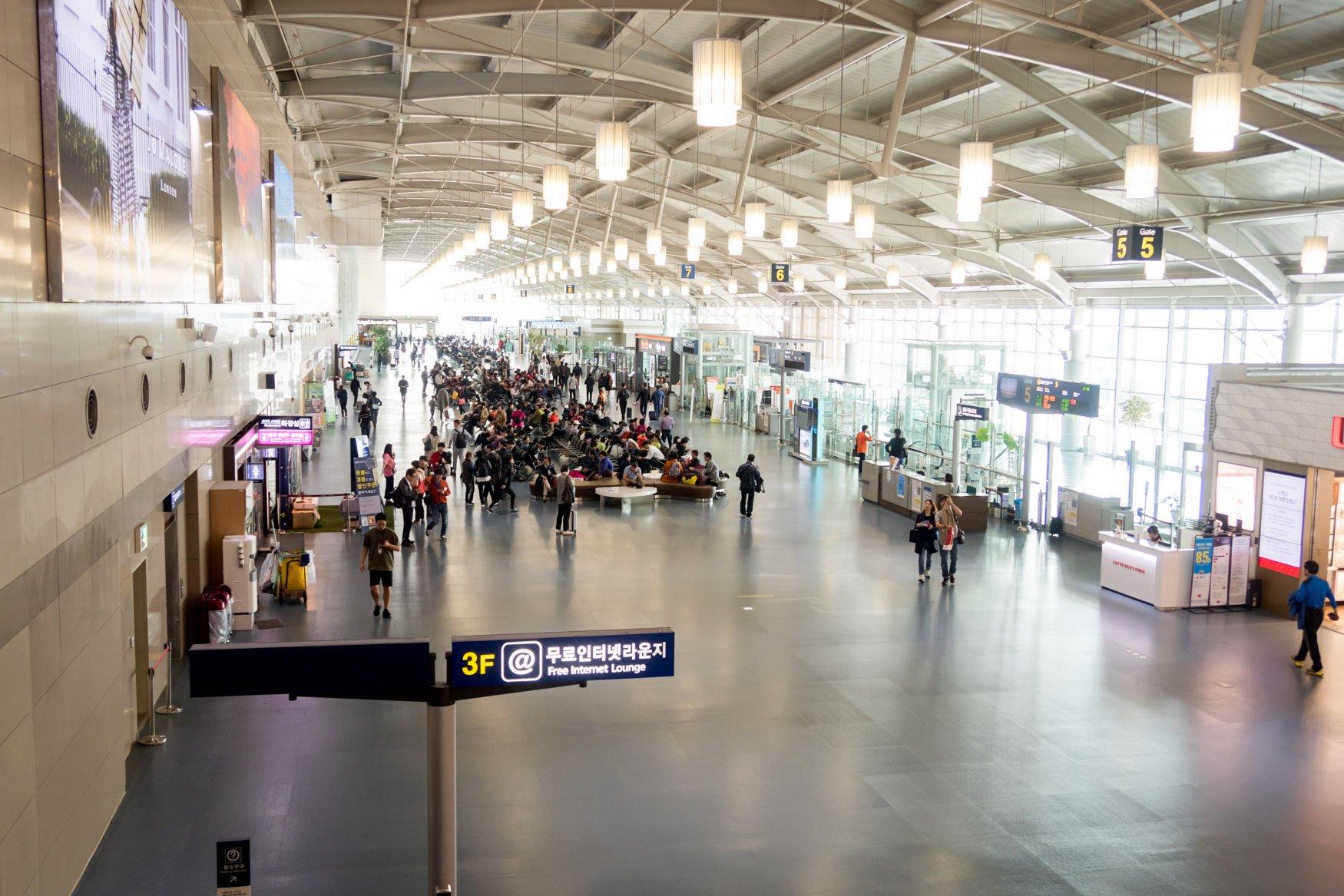 Busan Airport International Terminal