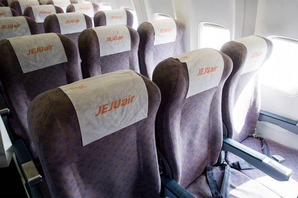 Jeju Air Cabin