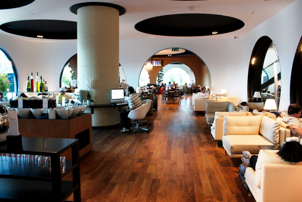 Turkish Airlines Lounge Istanbul Seating