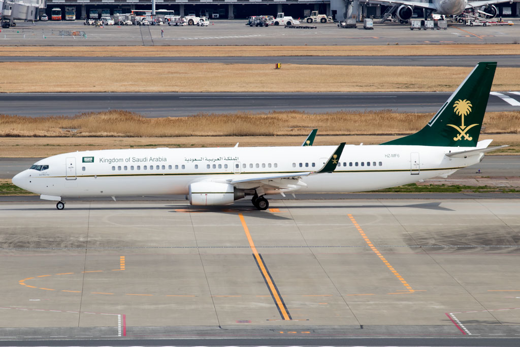 Saudi Arabia Ministry of Finance Boeing 737-900