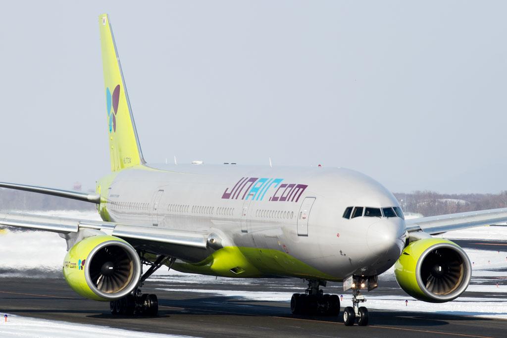 Jin Air Boeing 777-200