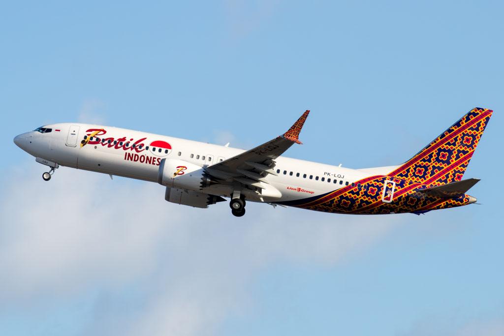 Batik Air Indonesia Boeing 737-MAX8