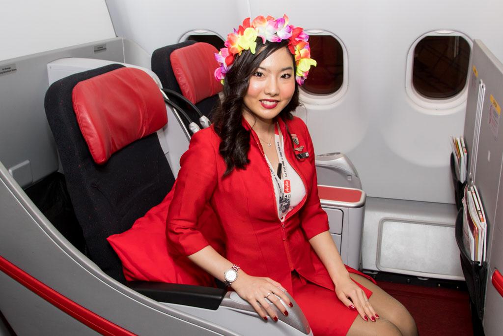 AirAsia X Osaka - Honolulu Inaugural