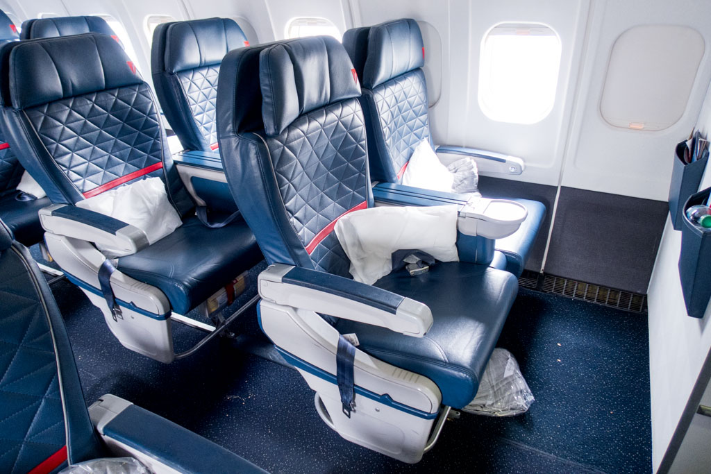 Delta Air Lines First Class Seat