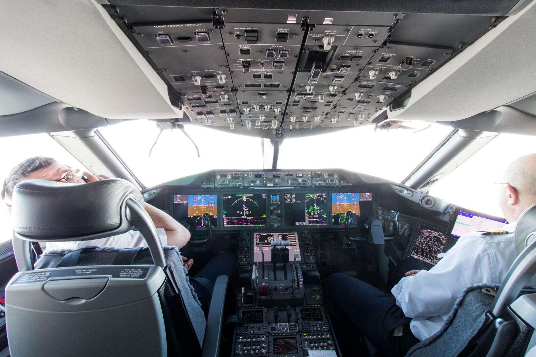 Air France Boeing 787-9 Inaugural