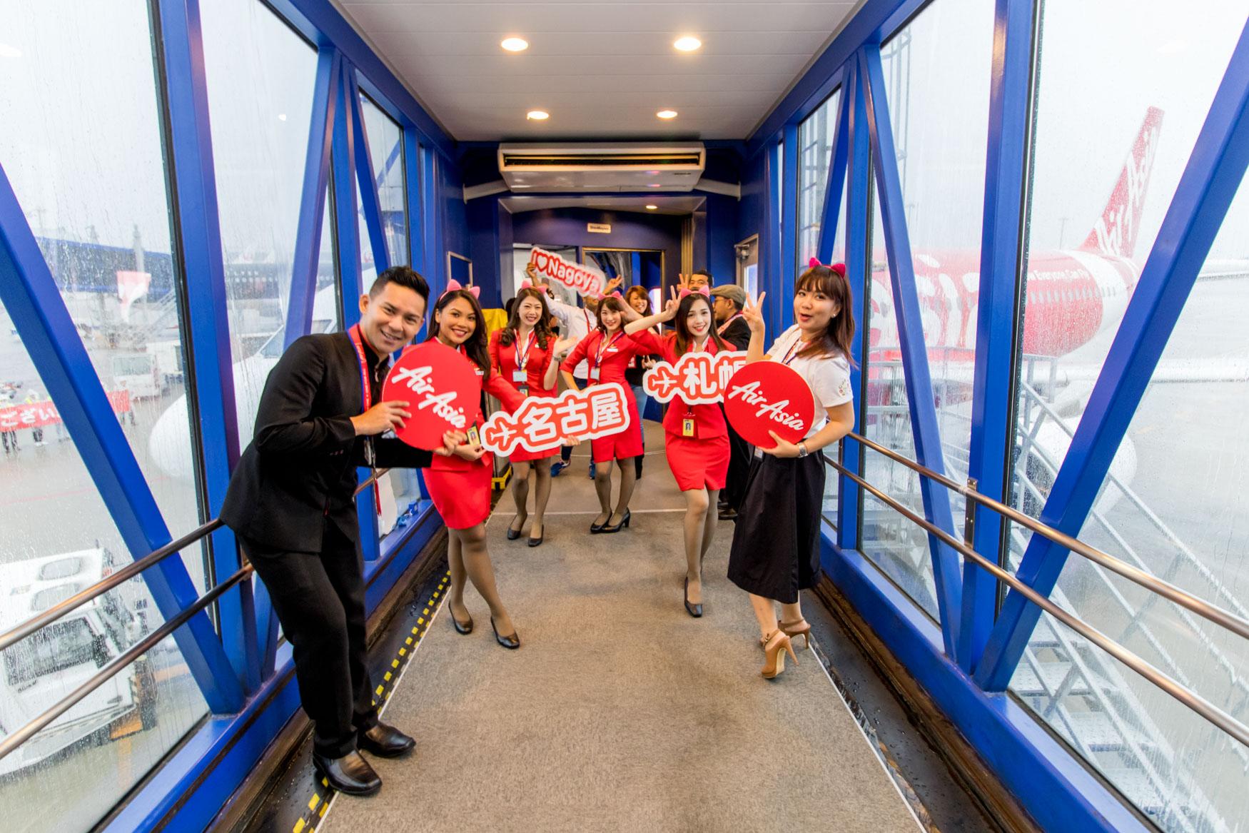 AirAsia Japan Inaugural Flight