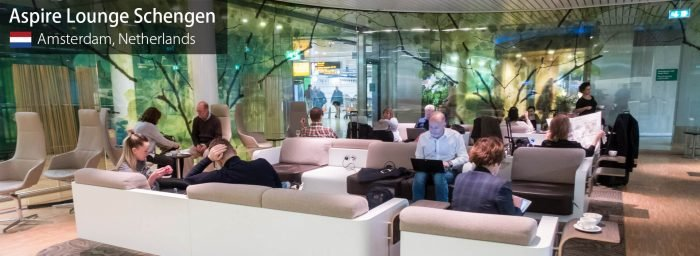 Lounge Review: Aspire Lounge Schengen at Amsterdam Schiphol